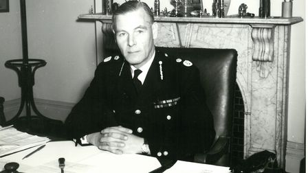Peter Garland went on to become the Norfolk Chief Constable after serving in the second World War. P