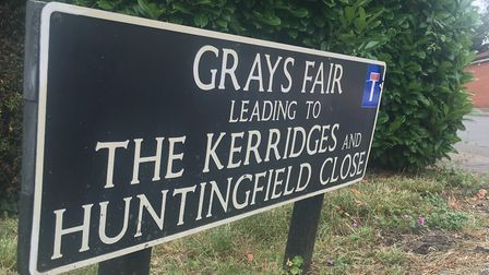 A murder investigation has been launched after a woman in her 80s was found dead at Grays Fair Court