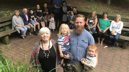 The Wensum Residents Association has organised a street party to combat antisocial behaviour. Photo:
