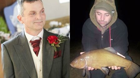 Neil Moon (left) and Jonathan (Jon) Collins (right) have been named as the men killed at the Banham