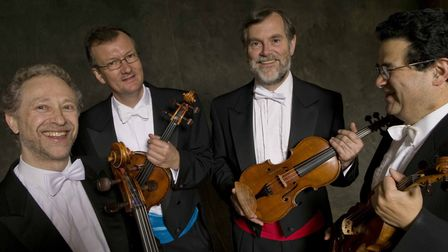The Endellion Quartet, who will be performing at King's Lynn festival Picture: Eric Richmond
