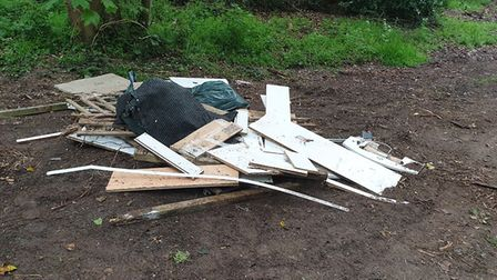 The woman was tracked down by the town council after documentation was discovered within the rubbish