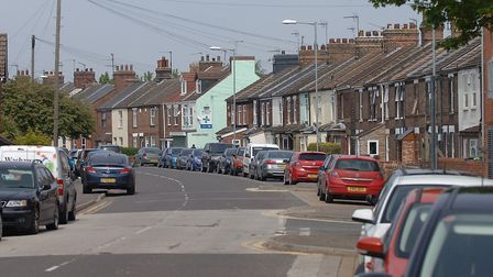 Saddlebow Road, in South Lynn, where the attack took place Picture: Chris Bishop