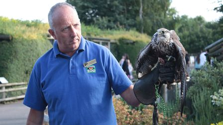 Banham Zoo's at Sunset event on July 13 where visitors were able to view the animals in a different
