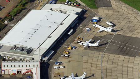 Councils are set to sell their remaining shares in Norwich Airport. Picture: Mike Page