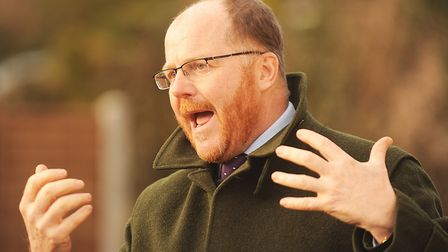 Mid-Norfolk MP George Freeman was highly critical of Breckland Council discussing plans for 255 home
