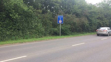 Yaxham Road in Dereham, where 255 homes could be built. Picture: Ian Clarke