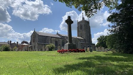 Aylsham's parish church, St Michael, is in the middle of the north Norfolk town. Picture: Stuart And