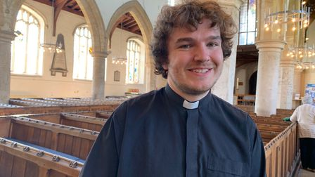 Curate Jack Branford, who is based at Aylsham Parish Church, said there was a 'hidden' problem of po