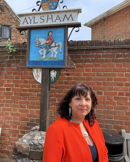 Tracy-Ann Moore of the Aylsham Business and Enterprise Forum is optimistic about the furutre of trad