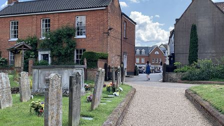 A view from the church yard of Aylsham's St Michael's. Picture: Stuart Anderson