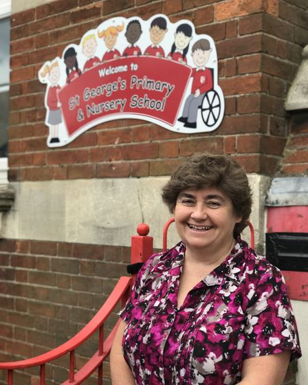 Mel Fearns, headteacher at St George's Primary School in Great Yarmouth. Picture: Victoria Pertusa