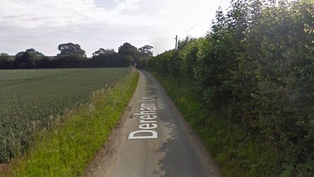 Norfolk Fire and Rescue service were called to Dereham Lane in Great Fransham on Sunday to reports o