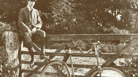 Taking a breather during a bike ride into Norfolk's pastoral past when the gate to excessive develo