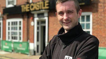 Danny Thurston, 28, is a supervisor at the pub. Picture: Archant