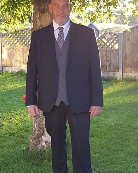 Rod Kemp after he lost almost 15 stone. Photo: Courtesy of Slimming World