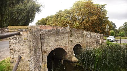 The Nuns' Bridges in Thetford were repaired with the wrong bricks. Picture: Ian Burt