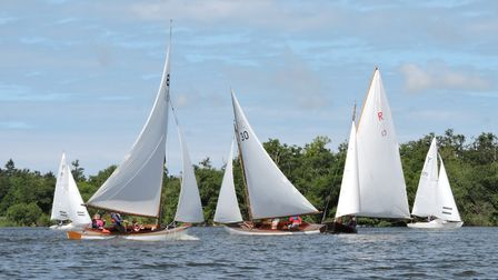 Action from Horning Sailing Club's Keelboat Weekend Picture: Holly Hancock