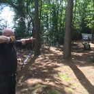 Jon Hancock, founder of Holt Woodland Archery and Air Gun Club. Picture: Archant