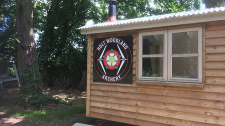 Holt Woodland Archery and Air Gun Club, which has been ordered to shut down. Picture: Archant
