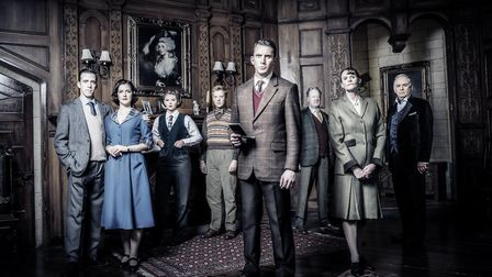 The cast of The Mousetrap 2019 UK tour. Picture: Johan Persson