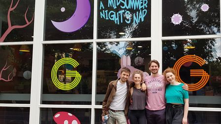 My First Play: A Midsummer Night's Dream cast. Picture: Wayne Savage/The Garage