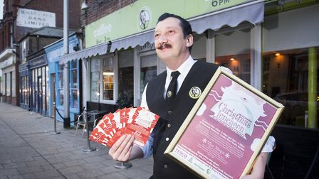 Desmond Baldry from Desmonds Pizzeria, Lowestoft, opened his restaurant on Christmas Day in 2017 in