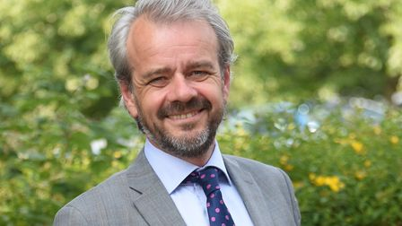 The chief executive of the Norfolk Chamber of Commerce, Chris Sargisson. Picture: DENISE BRADLEY