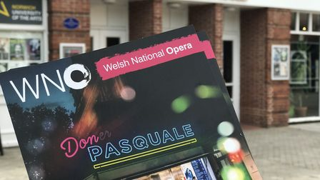 A modern interpretation of Don Pasquale, involving a kebab van in Cardiff, shows at the Norwich Play