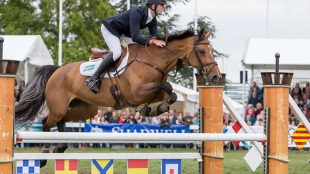 The equine programme includes world-class showjumping Picture: Lee Blanchflower