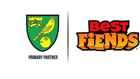 The new sleeve partner with Norwich City. Pic: NCFC