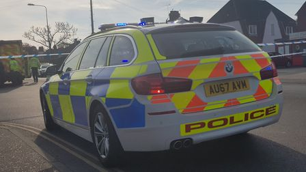 Police were called to Wroxham Road at 3.45pm today (Friday, April 5) to reports of a collision betwe