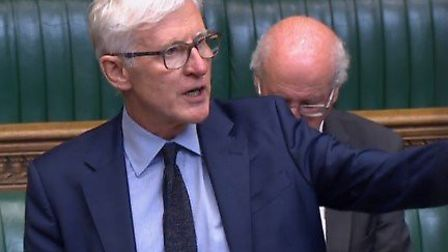 Norman Lamb speaking in a debate on assisted dying. Photo: House of Commons