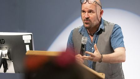 Local author Alex Scarrow (best known for his young adult science fiction series Time Riders) reads