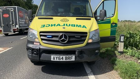 Emergency services have been called to the A47. Picture: Fenland Police