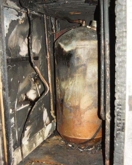 A family home in Ormesby St Margaret was gutted by fire on Friday. The owners are urging people to c