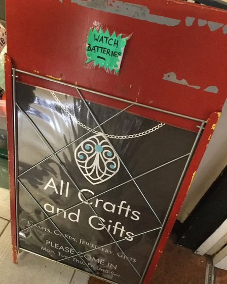 Sonia Bradshaw's is the owner of All Crafts and Gifts. Picture: SONIA BRADSHAW