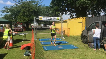 Michael Eccles was the runner up in the Humpty Dumpty 10K 2019. Picture: Mark Armstrong