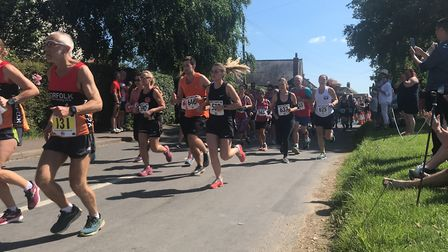 Action from the Humpty Dumpty 10K 2019. Picture: Mark Armstrong