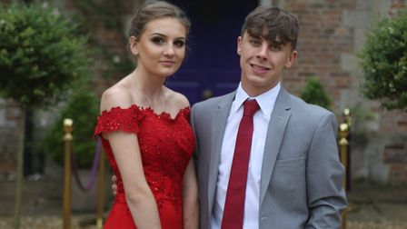 IES Breckland had itsYear 11 prom at Hockwold Hall. Photo: IES Breckland