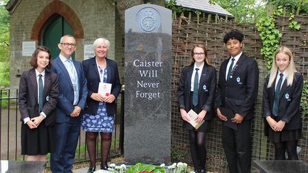 Caister Academy pupils, along with pupils at the four schools in Caister-on-Sea, have been part of a