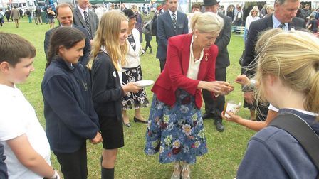 Loddon Junior School visited the Royal Norfolk Show and came second in the Food & Farming Challenge.