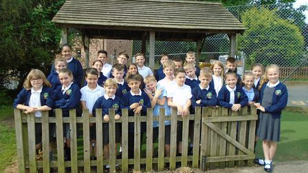 Children from Parkers C of E VC Primary School managed a sponsored swim for an hour. They raised £1,