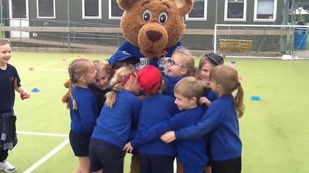 Brooke VC C of E Primary School's Year 1 and 2 had a brilliant time at the Multi-Skills Festival. Ph