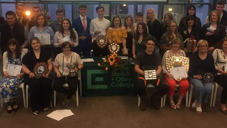 Easton and Otley College hosted their annual prize giving ceremony to celebrate student achievements