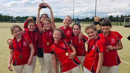 A fantastic achievement for Norwich High School for Girls' U11 Cricket team to come in first place a