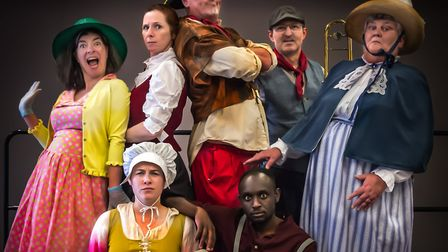 Anglia Square: A Love Story by The Common Lot is set for performances at three city locations. Pictu