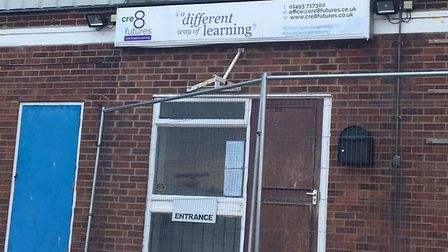 Cre8 Futures' original premises in Southgates Road, Great Yarmouth, from which it has since moved. P