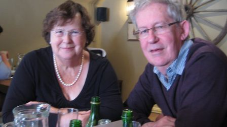 Ann and Adrian Hoare have released their ninth book, When War Came to Wymondham, about the town and