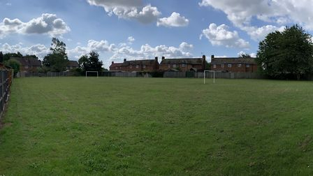 The future site of the Blenheim play park PICTURE: Archant